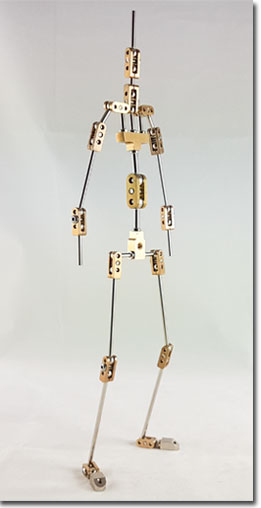Stop Motion Animation Armature manufacture and design for