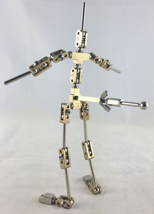 Stop Motion Animation Armature Manufacture And Design For Professionals Students And Home Animators Malvern Armatures 6mm Rig Assembly